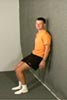 Wall Squat Exercise